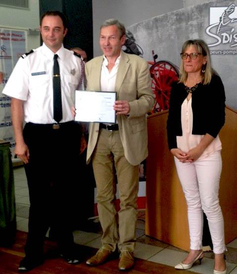 106e congrès de l'Union Départementale des Sapeurs-Pompiers