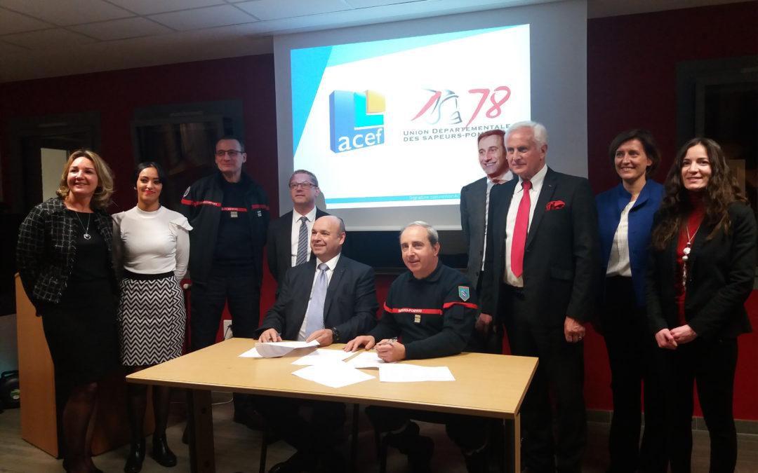 Une nouvelle convention de partenariat signée avec UDSPY 78