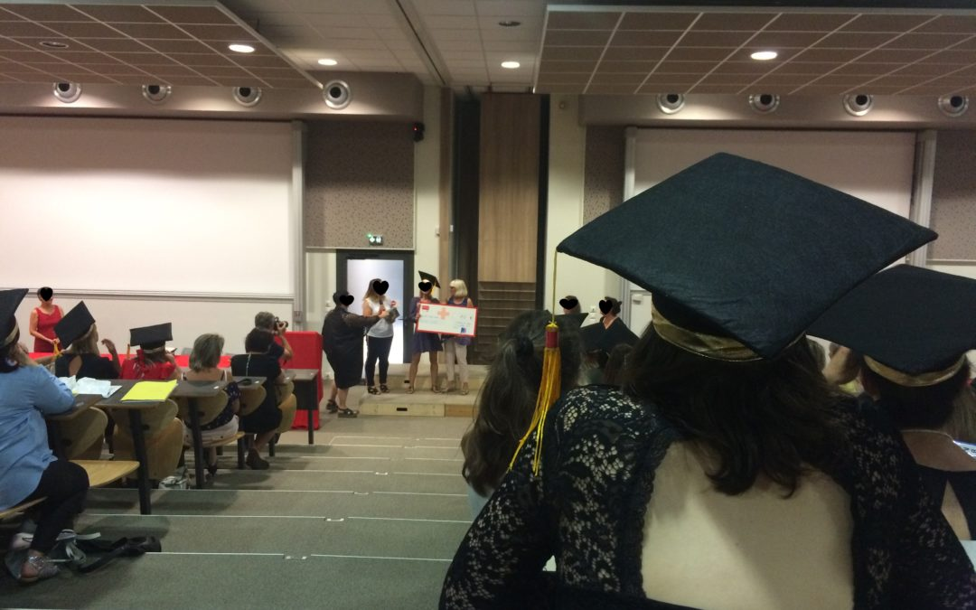 Au côté des diplômés IFRSS CROIX ROUGE