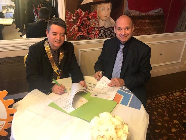 Partenariat renouvelé avec le Rotary Club de Chartres (28)